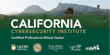 C)PEH — Certified Professional Ethical Hacker /OnSite: CalPoly CCI /November 17-20, 2020 tickets