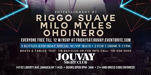 Friday Party @ Jouvay Nightclub