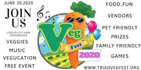 4th Annual Triad Vegfest CENTER CITY PARK tickets