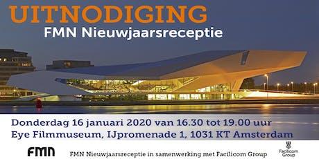 FMN Nieuwjaarsreceptie 2020 (i.s.m. Facilicom) tickets
