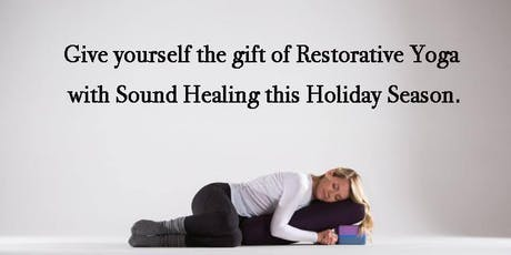 Restorative Yoga with Sound Healing tickets