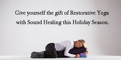 Restorative Yoga with Sound Healing tickets