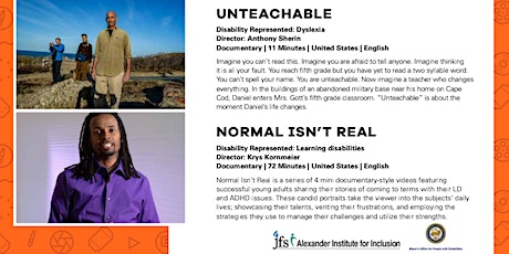 ReelAbilities: Unteachable and Normal Isn't Real tickets