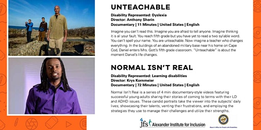 ReelAbilities: Unteachable and Normal Isn't Real