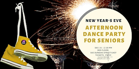 Club Platinum Afternoon Dance Party for Seniors NYE - Seniors Dance Toronto tickets