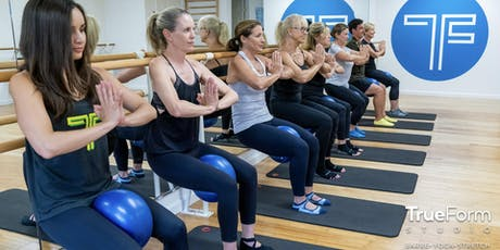 Free Barre Foundations Class tickets