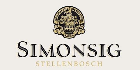 Simonsig Wine Tasting tickets