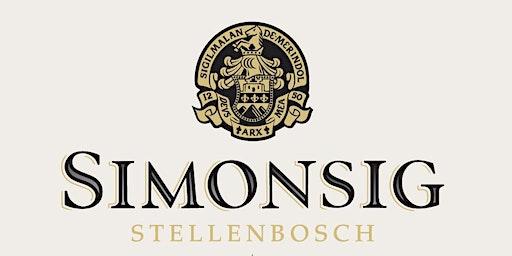 Simonsig Wine Tasting