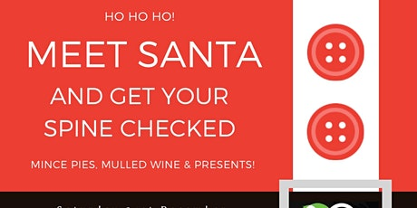 Meet Santa and get your kid's spine checked! tickets