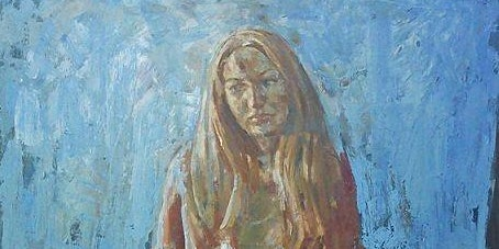 Kenneth Le Riche; Colourfully Draped Figure