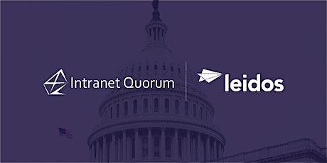 IQ User Group Meeting: US Senate tickets