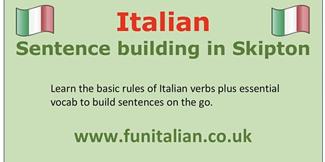 Italian sentence building tickets