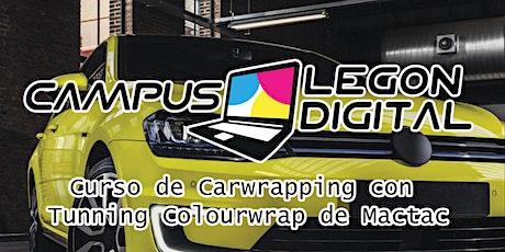 Carwrapping con Tunning Colourwrap de MACTAC entradas