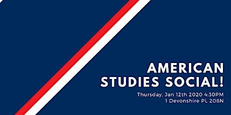 American Studies Social! tickets