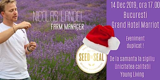 !!! NOU! SEED TO SEAL cu Nicolas Landel ~ unicitatea calitatii Young Living