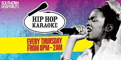 Hip Hop Karaoke @ Queen of Hoxton - January Blues Beater! CHEAP ADVANCE TICKETS tickets