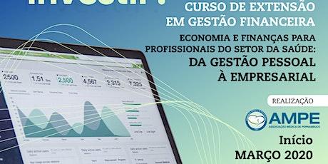 Curso de Extensão em Gestão Financeira ingressos
