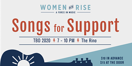 Songs for Support: A Women on the Rise Fundraising Event tickets