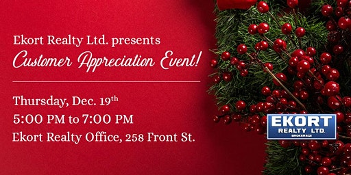 Ekort Realty Ltd. Customer Appreciation Event