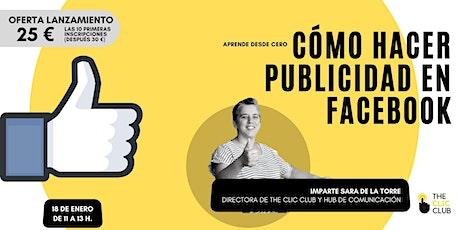 Taller de Publicidad en Facebook tickets