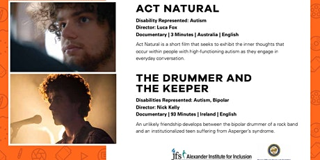 ReelAbilities: Act Natural & The Drummer and the Keeper tickets
