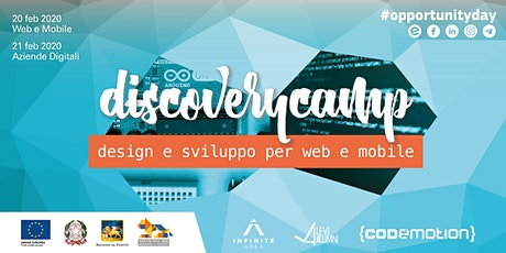 Discovery Camp - scopriamo il talento digitale #opportunityday tickets