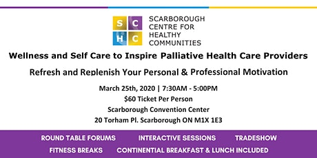 Wellness & Self Care to Inspire Palliative Health Care Providers Postponed! tickets