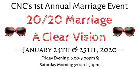 20/20 Marriage: A Clear Vision tickets