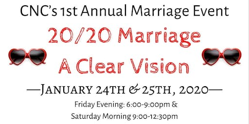 20/20 Marriage: A Clear Vision
