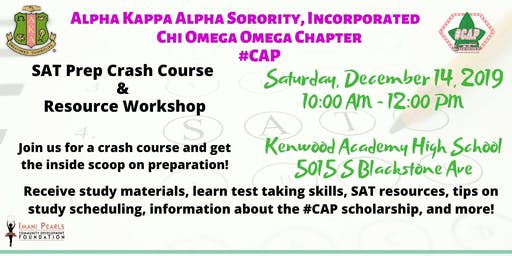 #CAP SAT Prep Crash Course & Resource Workshop