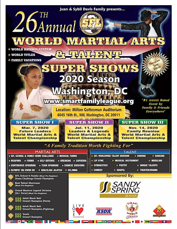 Juan Davis and Comedian Michael Colyar Host Martial Arts Talent Super Show image