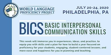 PA Summer Institute BICS (Basic Interpersonal Communication Skills) tickets