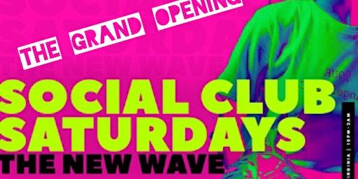 Social Club Saturdays at P & P Bar