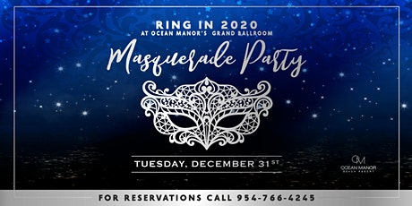 Ocean Manor Beach Resort : Masquerade Party tickets