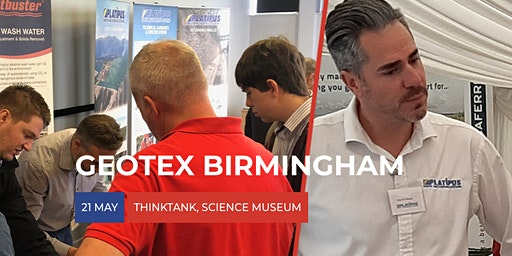 GEOTEX Birmingham - Ground Engineering Seminar