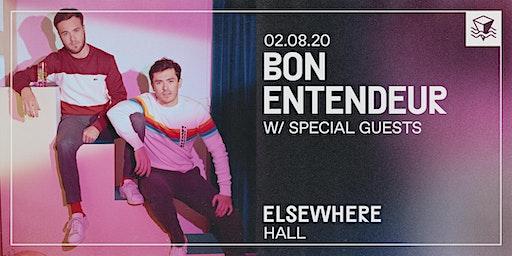 Bon Entendeur @ Elsewhere (Hall)