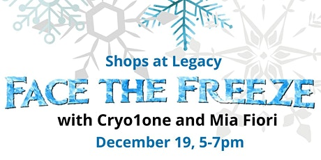 Face the Freeze with Cryo1one and Mia Fiori tickets