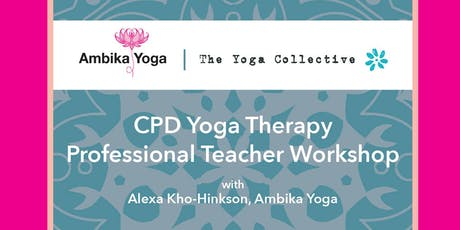 Yoga Therapy CPD day tickets