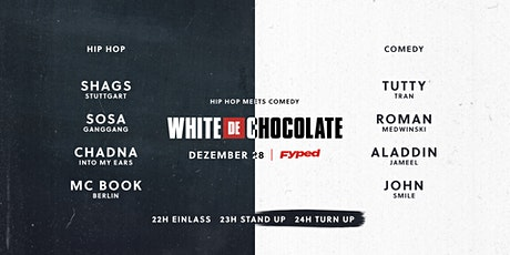 White Chocolate - Hip Hop x Comedy tickets