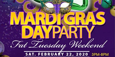 7th Annual Mardi Gras Day Party