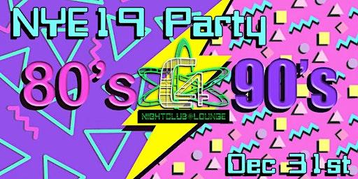 C4 NYE19 Featuring DJ Sno White & DJ Ambrosia