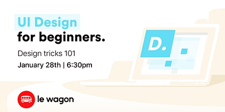 UI & Design Crash Course tickets