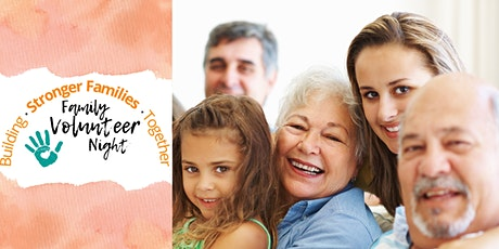 Family Volunteer Night tickets