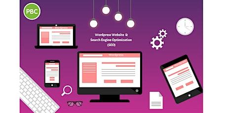 Build A Wordpress Website & Learn Tips To Make Google Love It  tickets