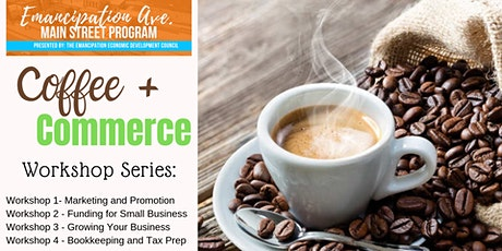 Emancipation Avenue Main Street Coffee + Commerce: Bookkeeping and Tax Prep tickets