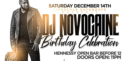 Hennessy Open Bar This Saturday for DJ NOVOCAINE B-day Bash at Jimmy's