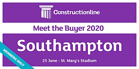 Southampton Constructionline Meet the Buyer 2020 tickets