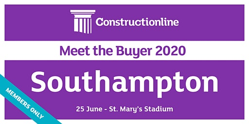 Southampton Constructionline Meet the Buyer 2020