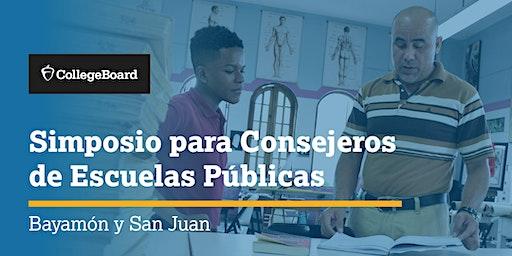 Simposio para Consejeros de Escuelas Públicas - Bayamón y San Juan