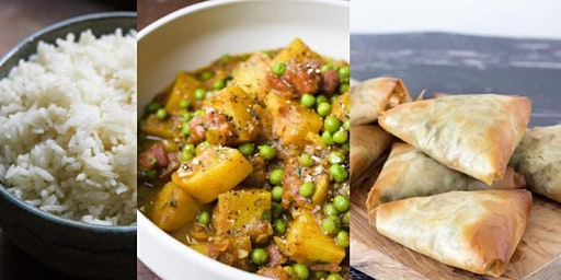 Veg Forward Series:  Vegetarian/Vegan Curry & Samosas